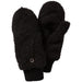 Fuzzy Bunny Mittens - Black - Tickled Pink Wholesale