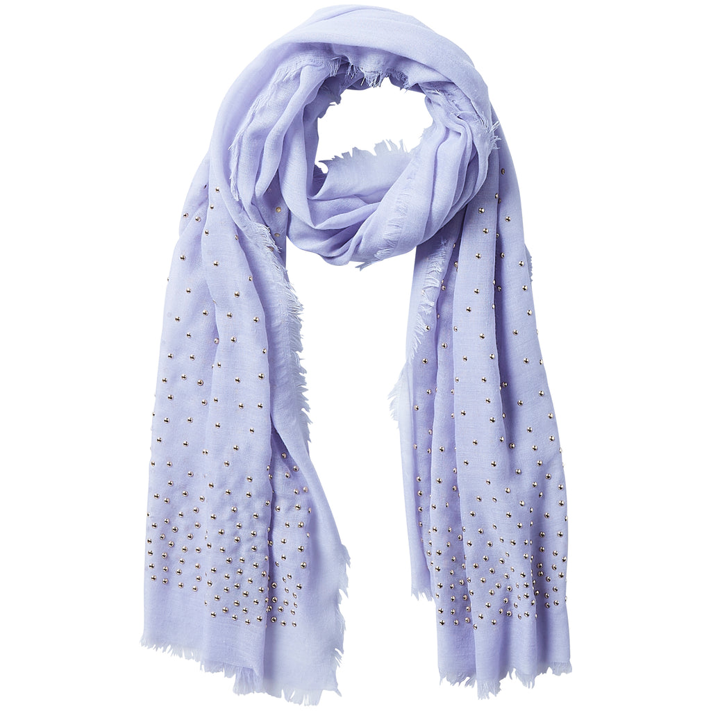 Rebel Studs Scarf - Iris - Tickled Pink Wholesale