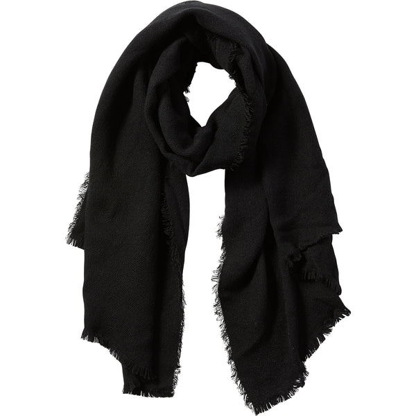 Black Evelyn Shimmer Scarf