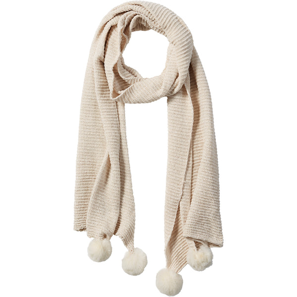 Powder Sara Chenille Cozy Scarf - Tickled Pink Wholesale