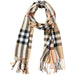 Beige Regan Plaid Scarf - Tickled Pink Wholesale