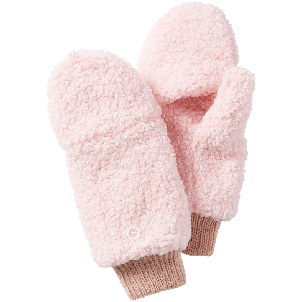Fuzzy Bunny Mittens - Pink - Tickled Pink Wholesale