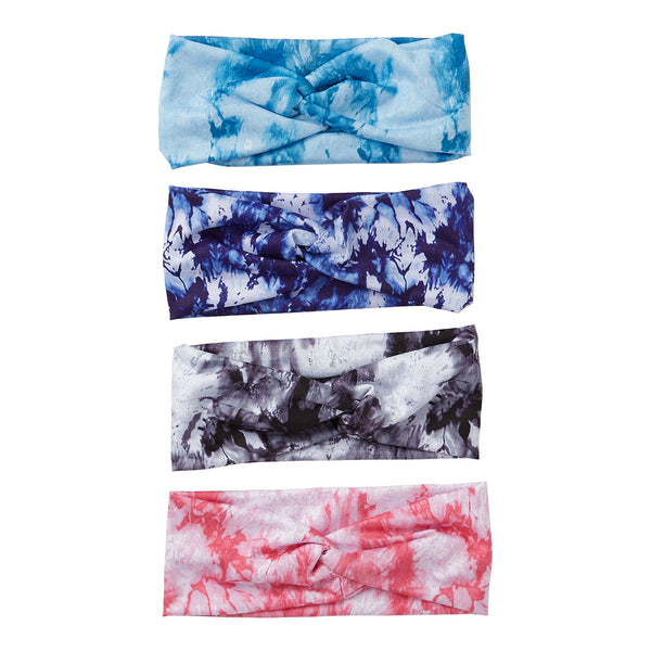 wholesale Tie-Dye Headband 12 Pack