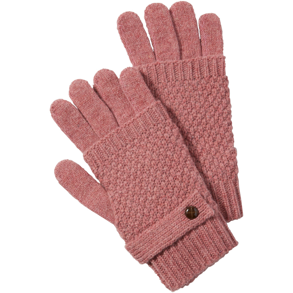 Pink Duo Knit Texting Gloves - Tickled Pink Wholesale
