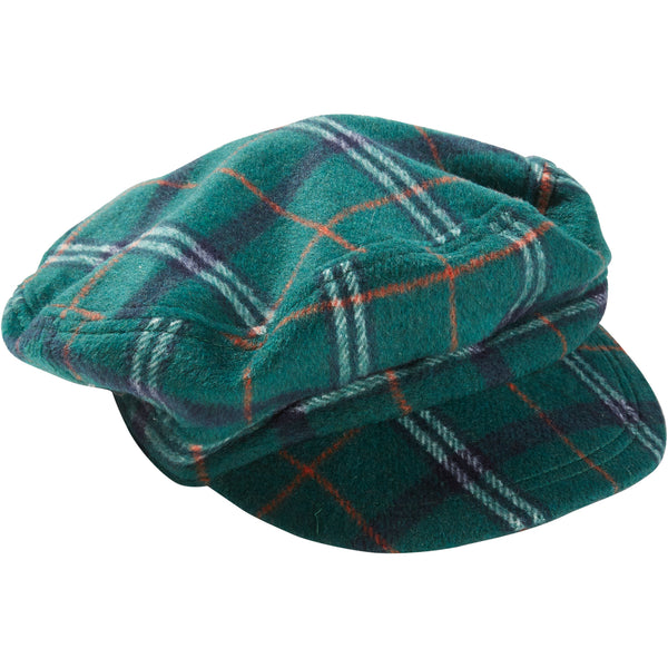 Juniper & Sienna Scout Plaid Newsboy Cap - Tickled Pink Wholesale