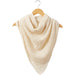 Fall Cowboy Scarf - White - Tickled Pink Wholesale