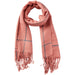 Knox Finge Scarf - Pink - Tickled Pink Wholesale