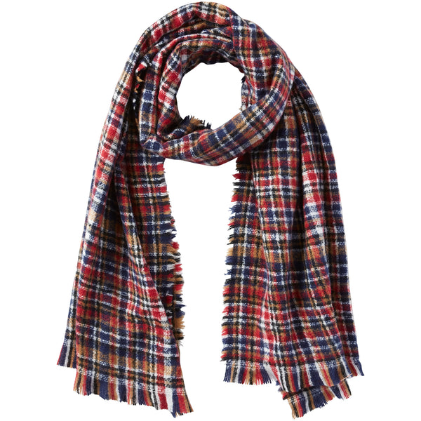 Dean Plaid Scarf - Aspen - Tickled Pink Wholesale