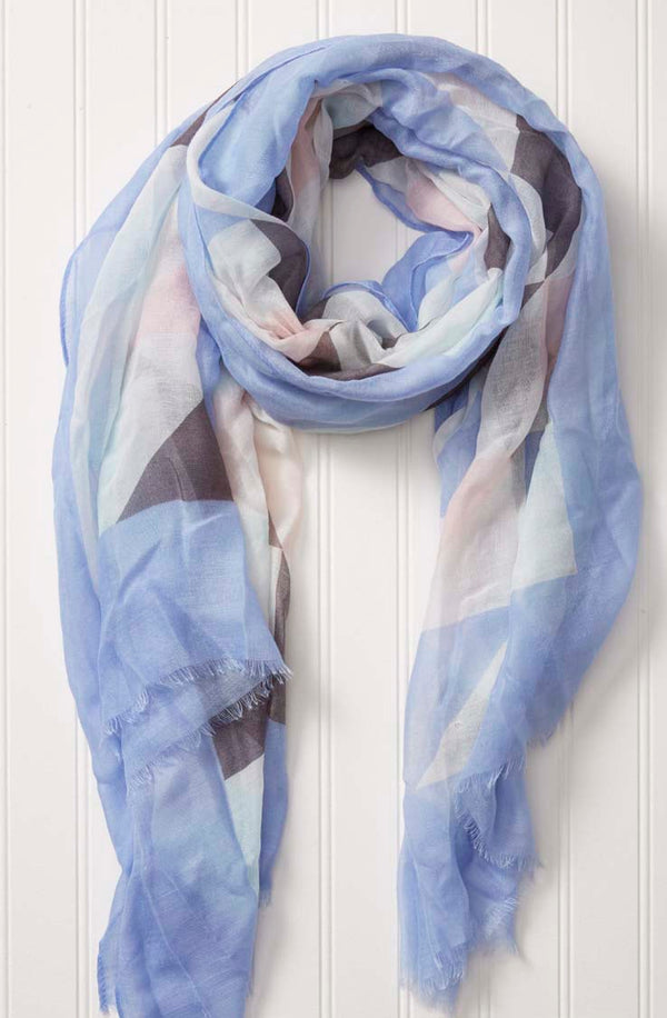 wholesale  Travel Scarf - Geo Tri