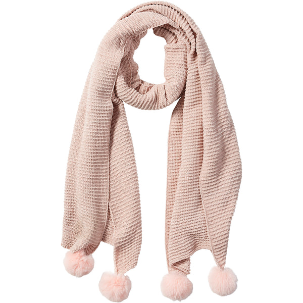 Pink Sara Chenille Cozy Scarf - Tickled Pink Wholesale