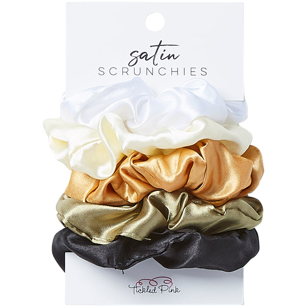 Silky Scrunchie Set - Neutral - Tickled Pink Wholesale