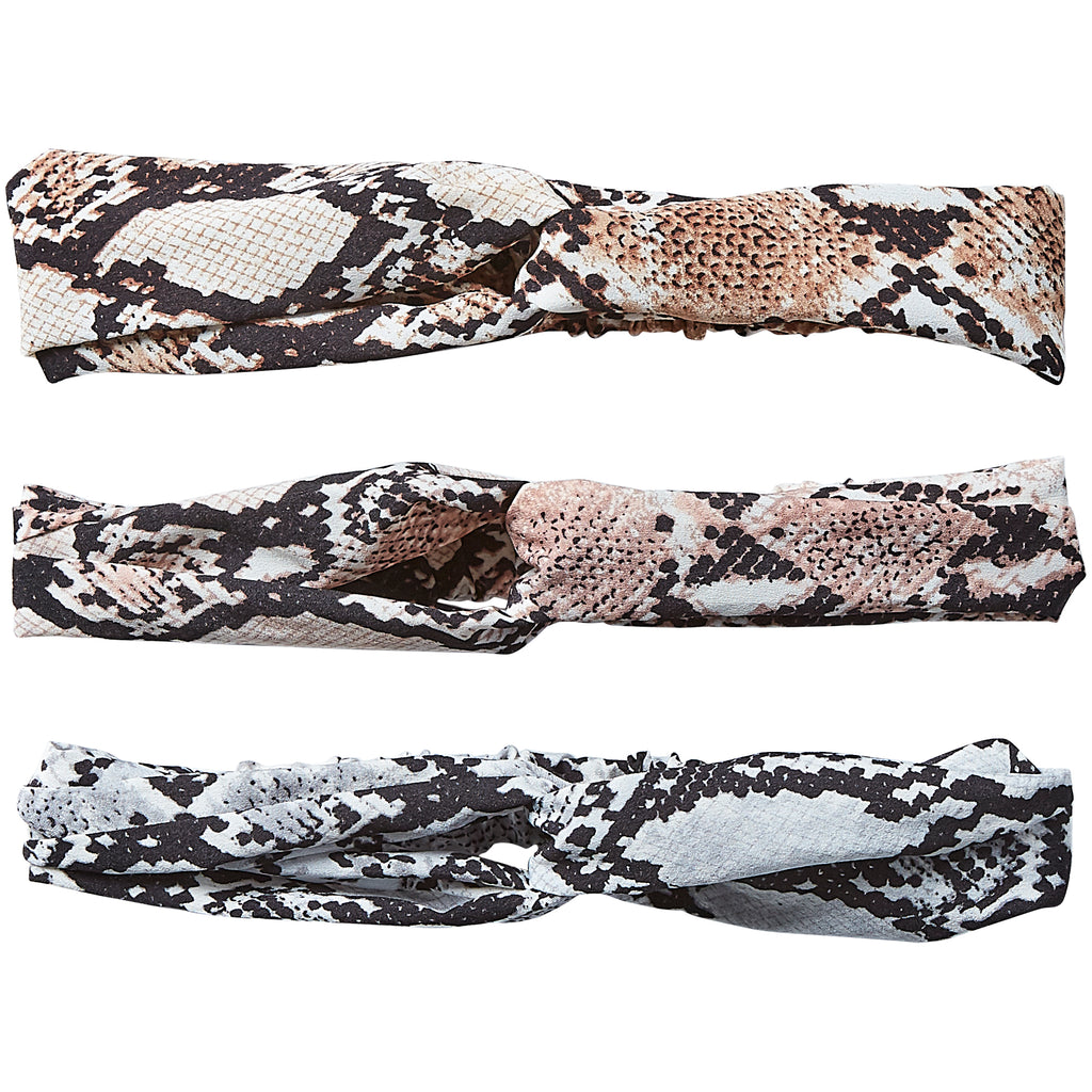 Headband 12 Pack - Snake Skin - Tickled Pink Wholesale