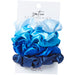 Silky Scrunchie Set - Blue - Tickled Pink Wholesale