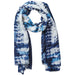 Tye Dye Scarf - Navy - Tickled Pink Wholesale