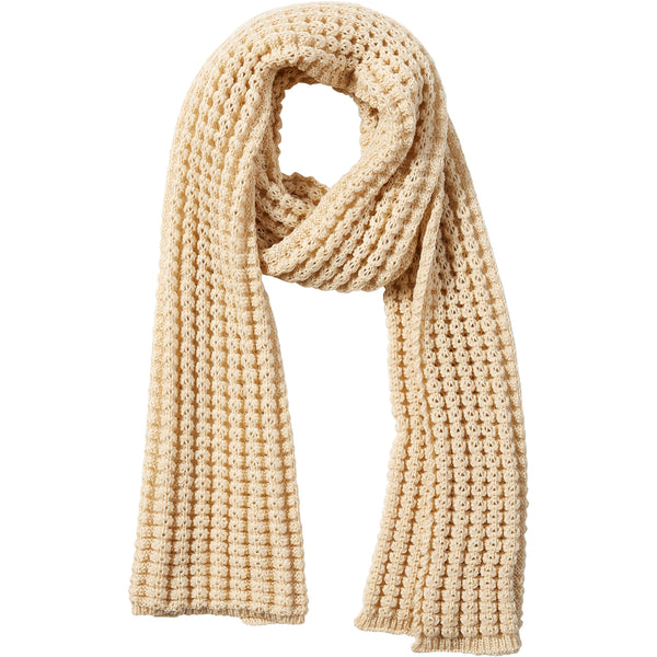 Beige Amanda Chunky Knit Scarf - Tickled Pink Wholesale