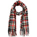 James Plaid Scarf - Raven - Tickled Pink Wholesale
