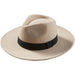 Sand Hilary Wool Panama Hat - Tickled Pink Wholesale