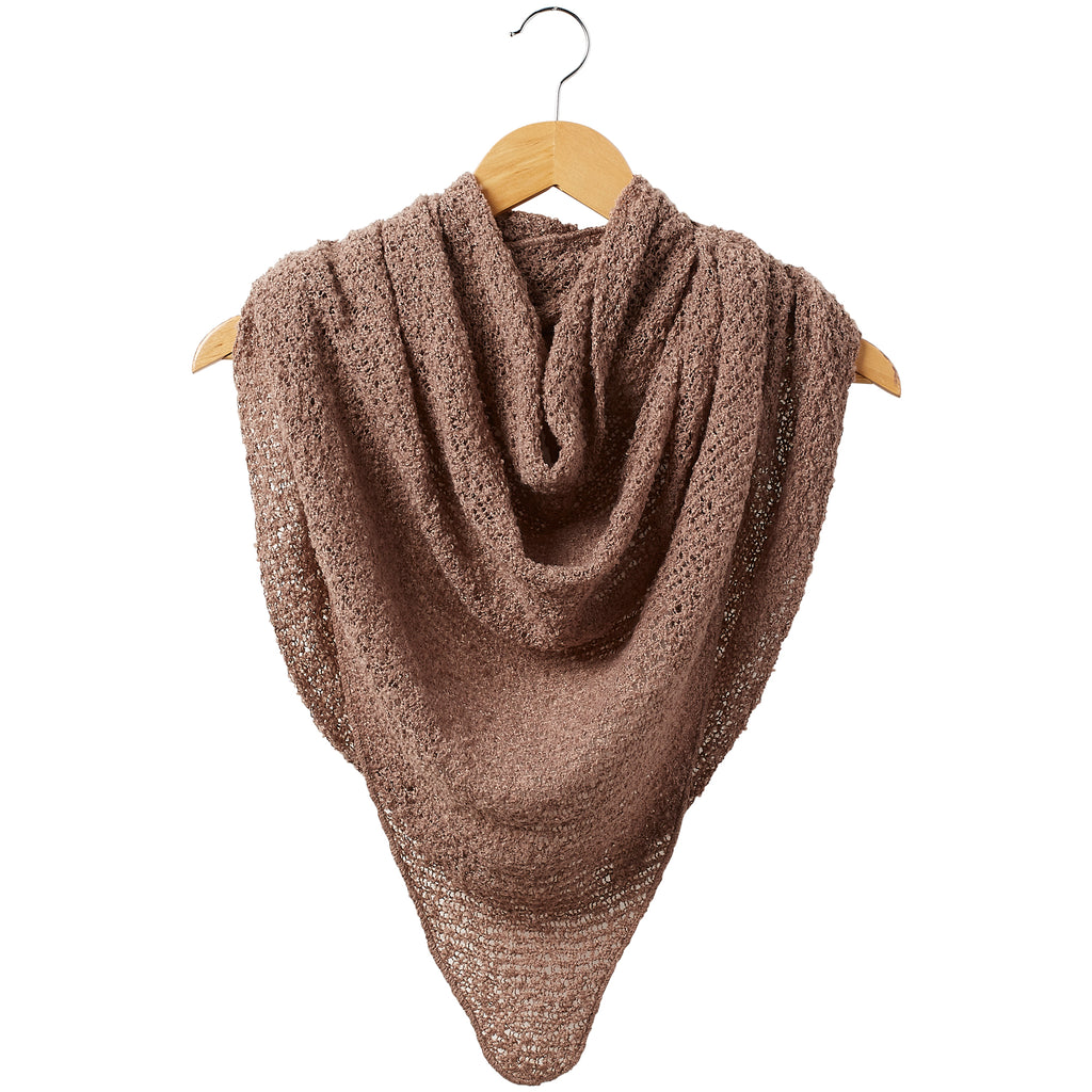 Fall Cowboy Scarf - Beige - Tickled Pink Wholesale