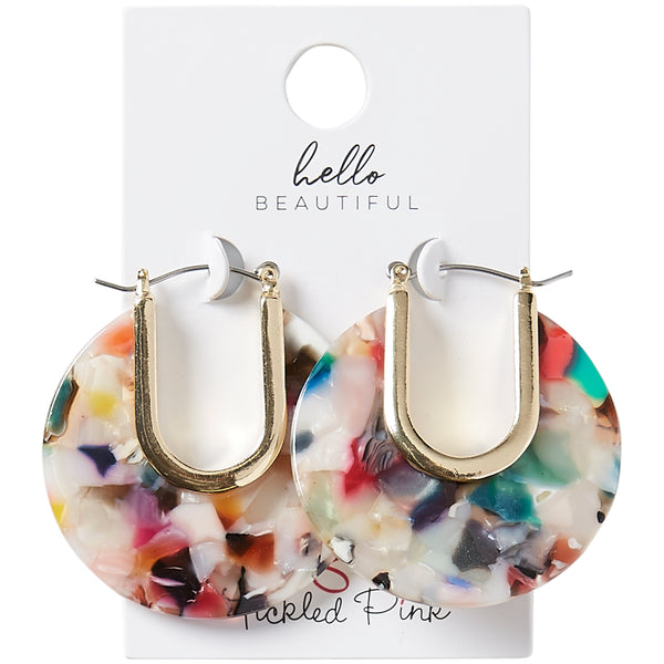Floral Belle Earrings - Tickled Pink Wholesale