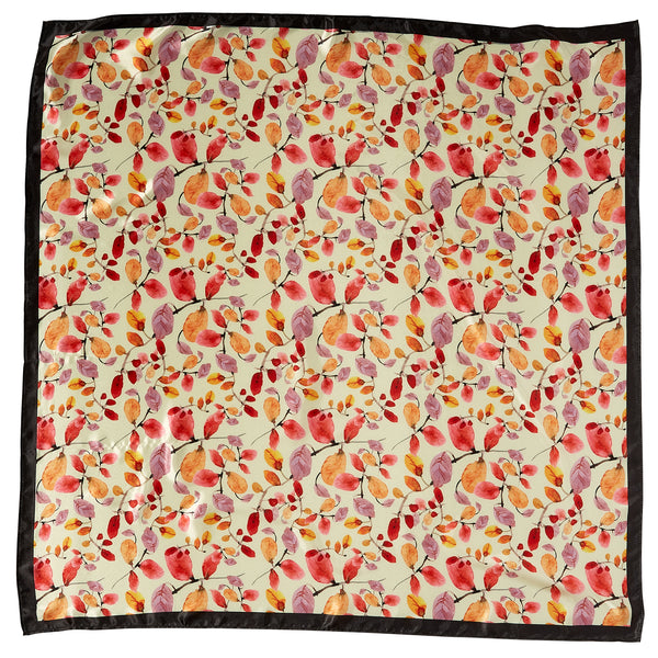 "Autumn Lola Square Scarf Gift Set - 34"" x 34"" - Tickled Pink Wholesale"