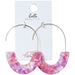 Pink Lily Earrings - Tickled Pink Wholesale