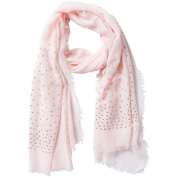 Rebel Studs Scarf - Peony - Tickled Pink Wholesale