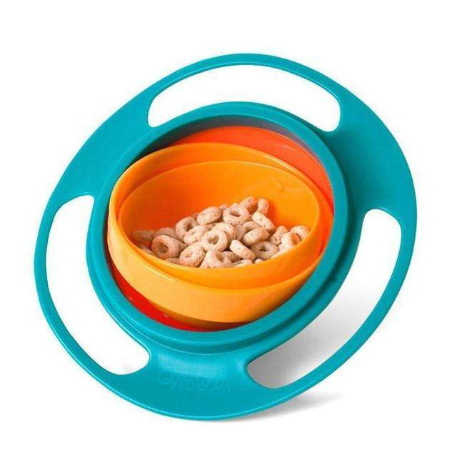 360 Rotate Spill-Proof Bowl - Winamer