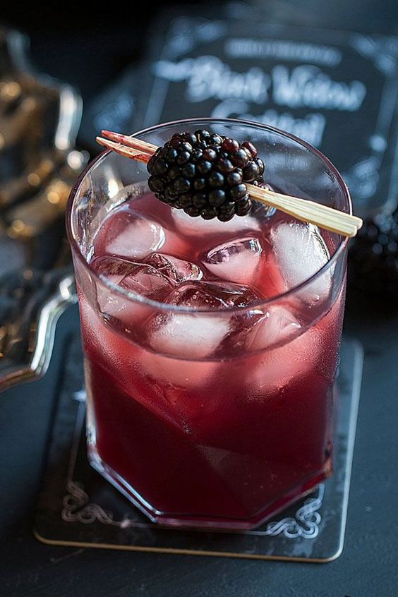 blackberry vodka punch