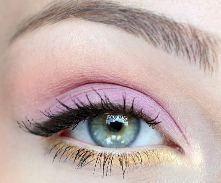 lavender matte eye shadow looks