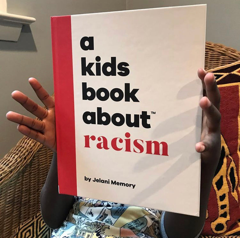 a kids book about racism by Jelani Memory