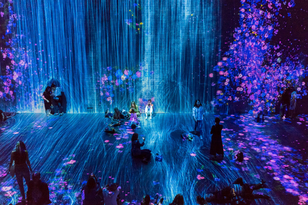 teamLab au dela des limites paris digital art exhibition la villette