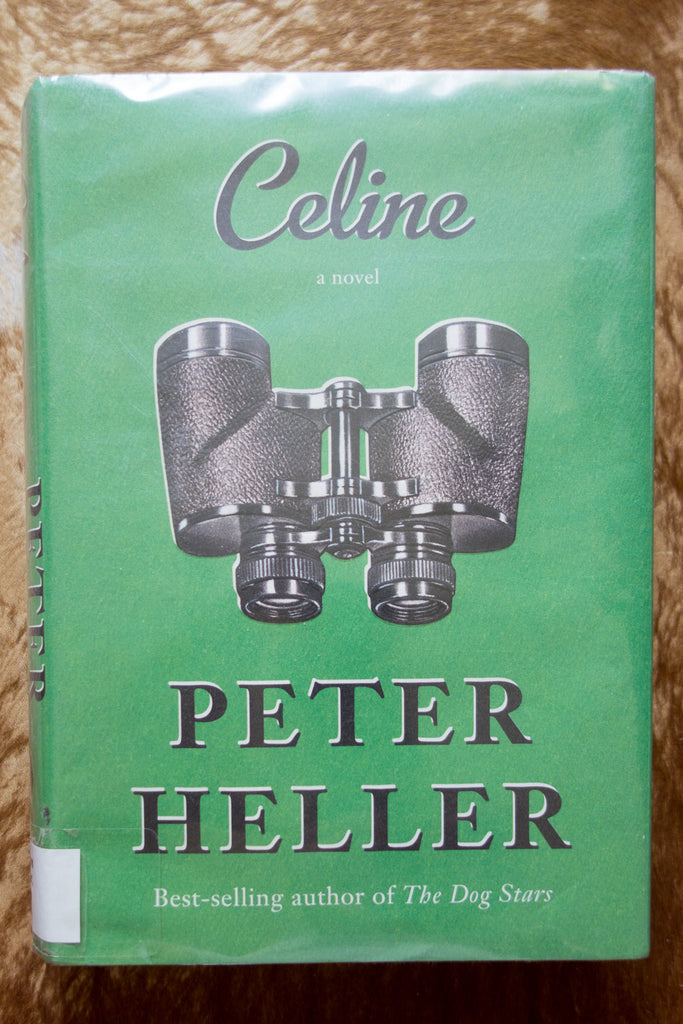 Celine book cover by Peter Heller