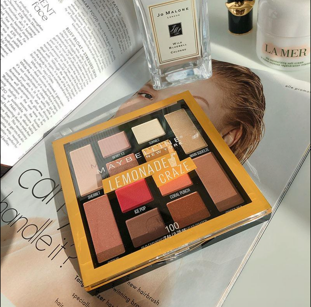 Maybelline lemonade craze eye shadow palette