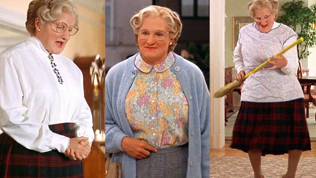 Robin Williams as Mrs. Doubtfire music by Pogo