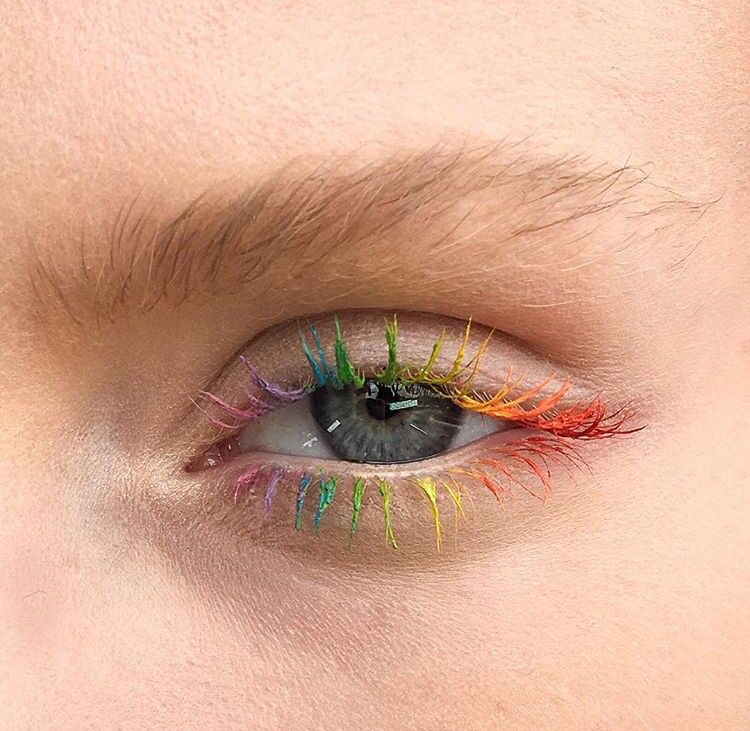 rainbow mascara eye makeup