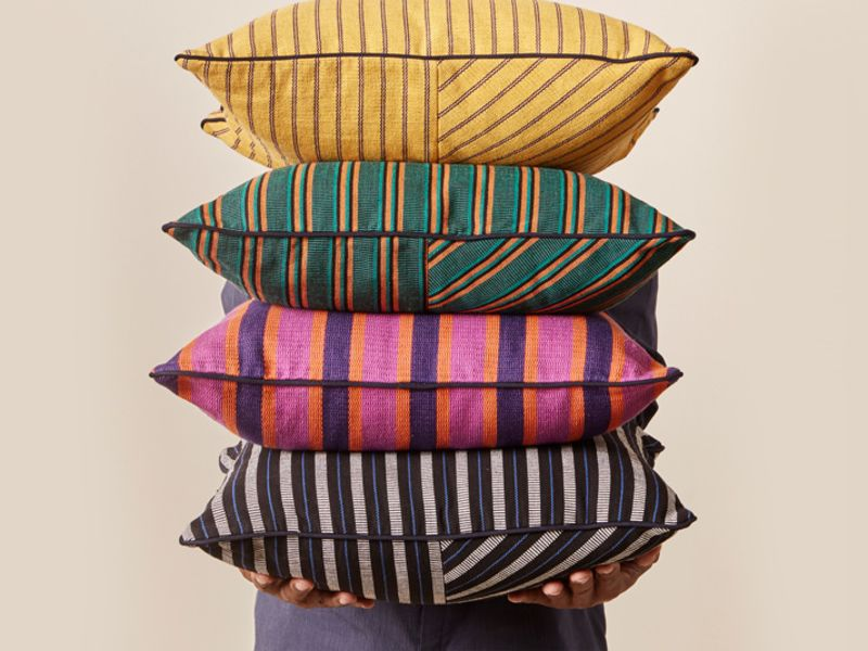 Goodee fabric pillows