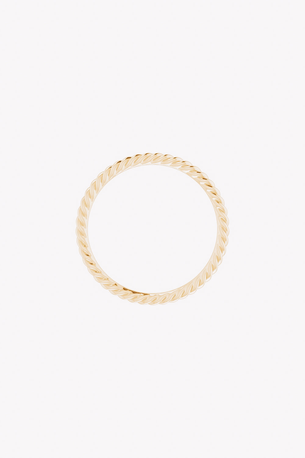 1.5 mm Skinny Rope Band | 14K Gold | Janna Conner