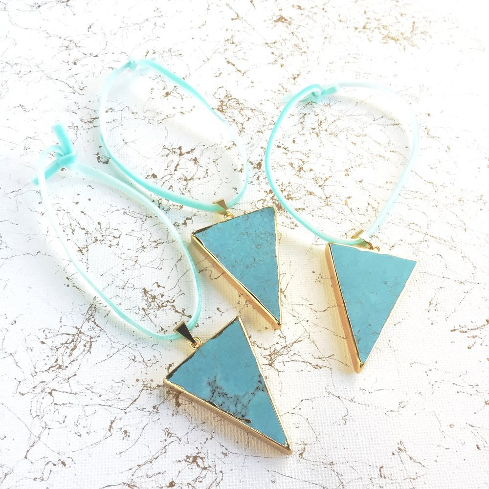 Turquoise Howlite Ornaments