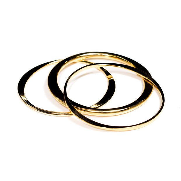 Rani | Bangle Set | 18K Gold Plating | Janna Conner