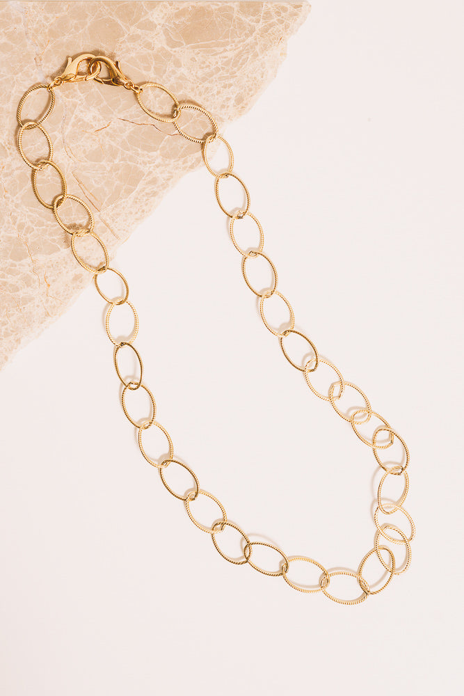 14k goldfill rope chain necklace