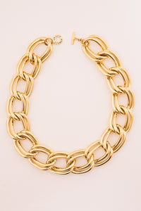 Arlo Large Link Chain Necklace | 18k Gold Plating | Janna Conner