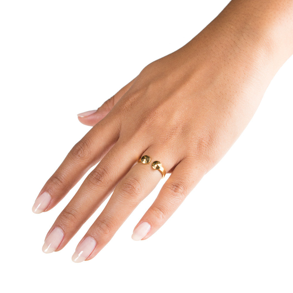 Ruda Ring | 18k Gold Plating | Janna Conner |