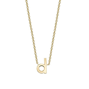 Initial Necklace | 14K Gold | Janna Conner