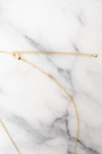 gold extender chain necklace