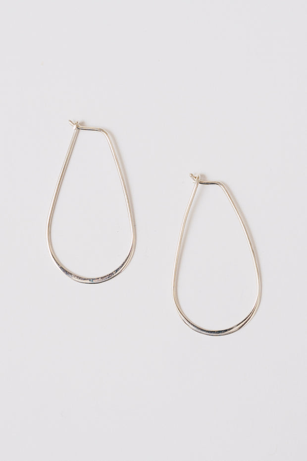 Justina Hoop Earring | Sterling Silver | Janna Conner