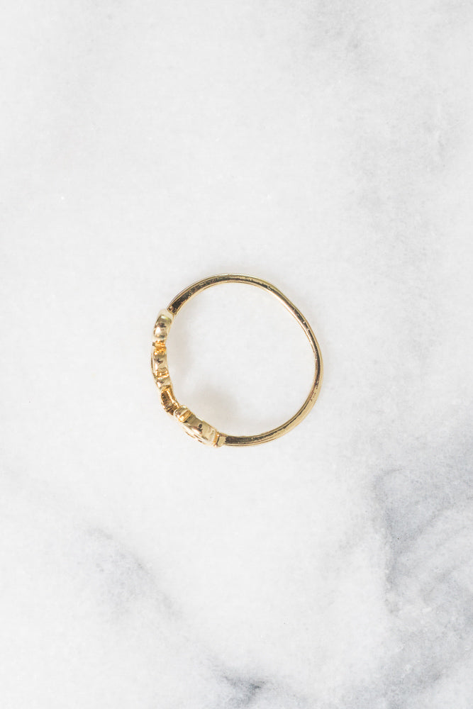 Love Ring | 18k Gold Plating | Janna Conner