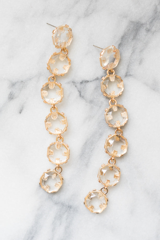 crystal shoulder duster earrings janna Conner