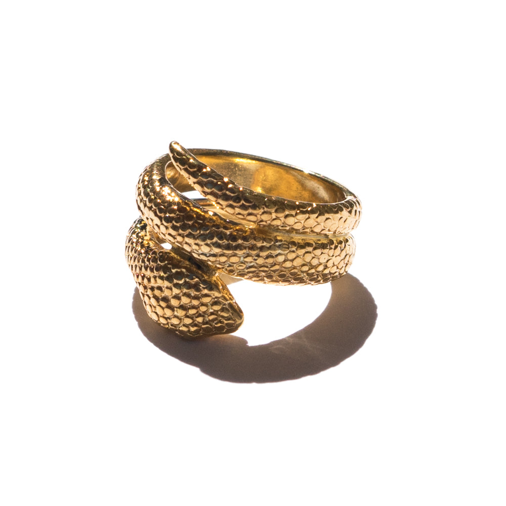 Peyton Snake Ring | Bronze | Janna Conner
