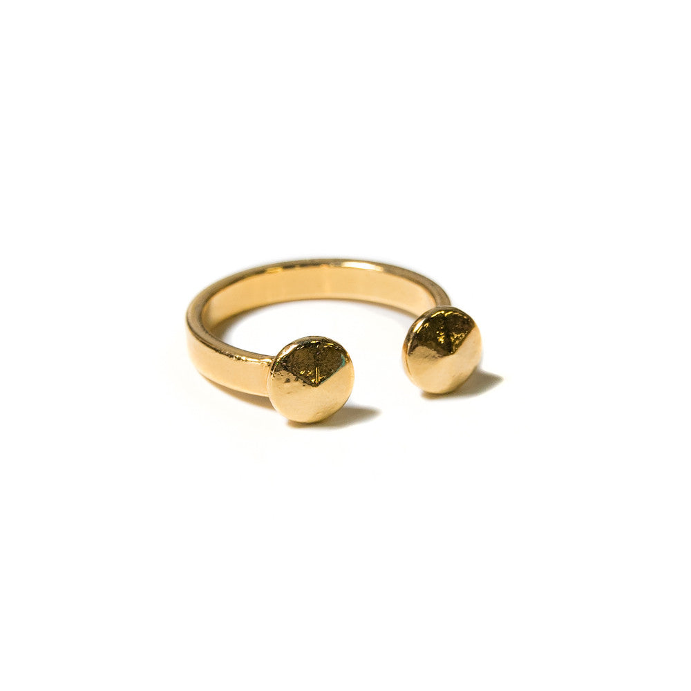 Ruda Ring | 18k Gold Plating | Janna Conner | Sale