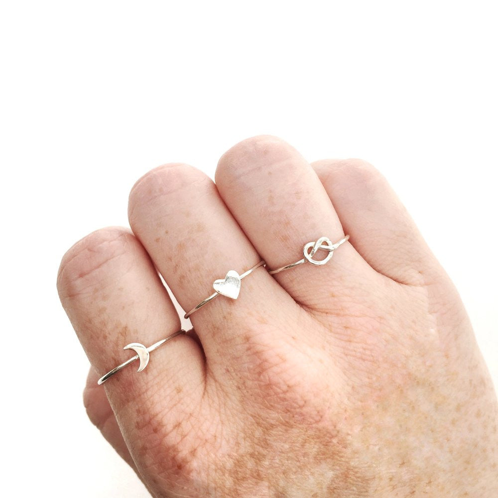 Gordian | Knot Ring | Sterling Silver | Janna Conner
